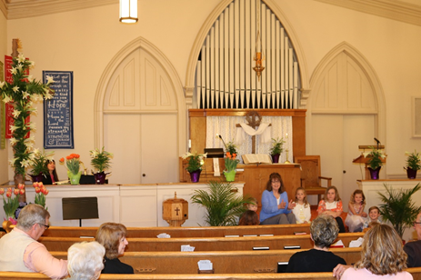 Worship Services - Inside Church